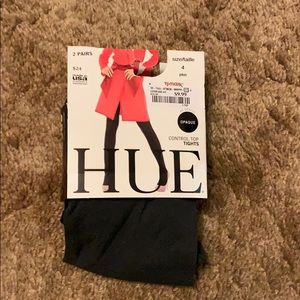 Hue Gray Opague Tights NWT Size 4 (2X)